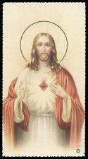 """santino-holy card""""""""ediz. NB*  n.6007 S.CUORE DI GESU'"""