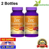 ZINC LOZENGES Echinacea Vitamin C Natural Berry Flavor Immune System Boost 120ct