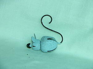 Collect-A-Bells Gray Mouse with Curled Tail-Halloween-Jingle