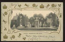 Suffolk IPSWICH Christchurch Park 1903 u/b PPC fancy embossed border