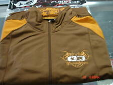 Planet Eclipse Compton Trackie Jacket Brown/Gold 08 Ego