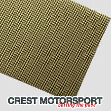 Real de Kevlar/carbono fibra Autoadhesivo Hoja 500mm X 250 Mm race/rally coche