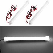 2X 12V White 5630 12LED Car LED SMD Interior Light Bar Tube Strip Lamp Boat
