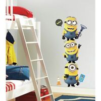 Giant DESPICABLE ME 2 Minions MovieWall Decals Stickers Room DecorRMK2081GM