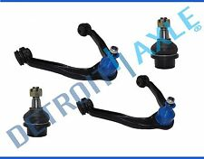 NEW 4pc Front Upper Control Arm and Lower Ball Joint Set for Chevrolet and GMC