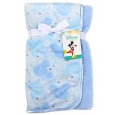 "Disney Baby Mickey Mouse Mink Sherpa Baby Blanket 30"" x 30"""