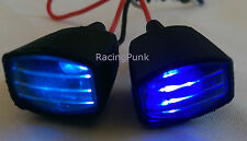 Rc 1/10 Car Crawler Truck Roof Front Mounted Body shell Fog with LED Lights UK