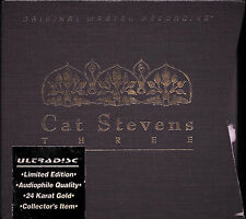 CAT STEVENS - THREE /MFSL / UDCD 3-661 /GOLD 3-CD BOX LIM.EDIT 2895/ NEW&SEALED!