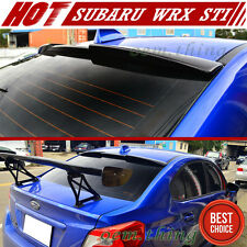2016 ABS For Subaru WRX STI Sport 4D Sedan Window Rear Roof Spoiler Unpainted