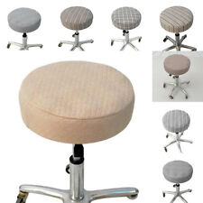 Slip Resistant Bar Stool Slipcover Round Chair Seat Cover Cushion Sleeve