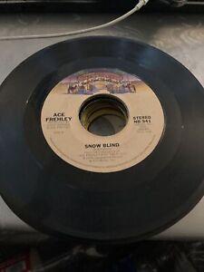 """Ace Frehley (KISS) New York Groove / Snow Blind 7"""" Vinyl"""