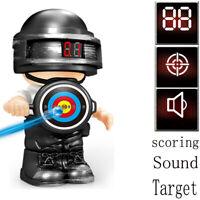 3pcs Automatic Electronic Scoring Target Toy Figure for Gel Blaster Gun Shooting
