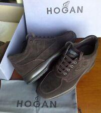 Hogan NEW INTERACTIVE,dark BROWN SUEDE,Inner Sole 28,9 cm,size 42,5 ITA/8.5 UK*