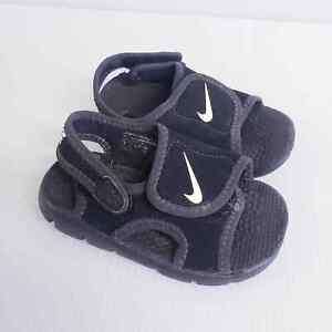 Nike Neoprene Black Baby Sandals 6