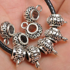 10pcs Tibetan Silver Charms Bail Connector Beads pendant Connectors Bead   A3546