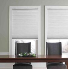 "REAL SIMPLE Cordless Cellular Shade Light Filtering 36.5""x 72"" WHITE NEW"