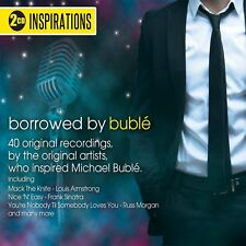 BORROWED BY BUBLE NEW 2 CD SET INSPIRATIONS 40 HITS WHO INSPIRED MICHAEL BUBLE