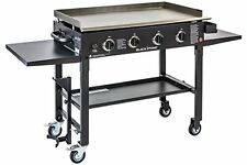Blackstone 36 inch Outdoor Flat Top Gas Grill Griddle Station - 4-burner - New