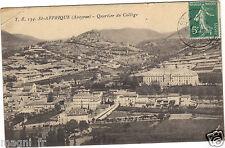 12 - cpa - ST AFRIQUE - Quartier du collège