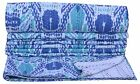 Indian Kantha Quilt White Ikat Throw cotton Bedding Bed Spread Twin Size Blanket