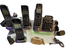 Panasonic KX-TG7641 Cordless Phone System 4 Handsets W Bluetooth