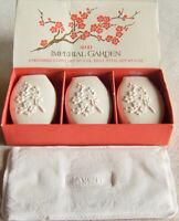 "Vintage 1974 Avon ""IMPERIAL GARDEN"" Set of 3 Perfumed Soaps 9 oz. Total - NEW!"