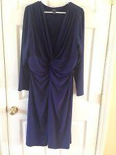 CHAP's Blue Women's Dress Size 20 Career, Wear to Work