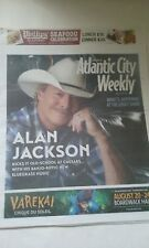 ALAN JACKSON COVER ATLANTIC CITY  PAPER AUGUST 21-28, 2014 NEVER READ