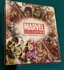 2011 Rittenhouse Archives Marvel Universe Master Set