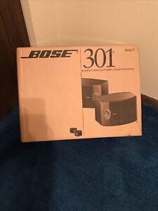 Bose 301 Series V In Original Boxes Mint Circa 2002 WOW!!