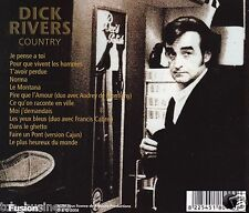 Dick RIVERS country rare CD  album CANADA