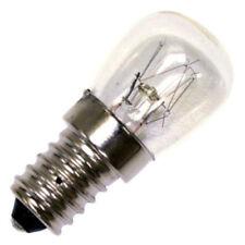 2 x 25w SES E14 Clear Lamp Tubular Cooker Hood Extractor Light Bulb Pa