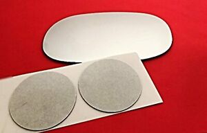 Fits Vintage Chevy, GM Models Left Driver Mirror Glass Lens w/Adhesive 3 Options