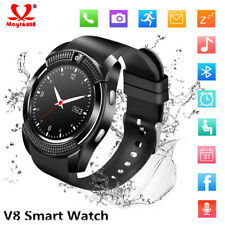 V8 Smart Watch Bluetooth Touch Screen Sport Men Women Watch SIM Slot For Android