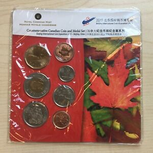 Canada - Commemorative Coin Set And Medal Set - 2011