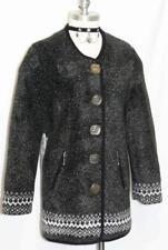 BLACK German Designer Long Sweater JACKET Coat/34/6 8 S