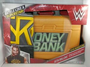 WWE Seth Rollins Dress-Up with Money in the Bank Foam Briefcase - Shirt Size 4-6