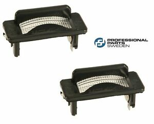 Volvo 240 245 264 265 Set of 2 License Plate Lights PRO PARTS 3540331