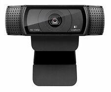 LOGITECH C920 WEBCAM 1080p HD (BLACK) with USB CABLE -- NO RESERVE!!