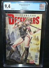 Fearless Defenders #1 - Milo Manara Variant Cover - CGC Grade 9.4 - 2013