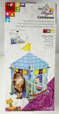 New Cat Furniture/Toy: Kitty City Royal  Gatehouse for Cats and Kittens