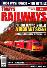 TODAY'S RAILWAYS UK 130 OCT 2012 Rail in Regions,Lincoln Lines,Welsh Freight,New