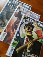 Axe Cop President Of The World 1-3 Full Series Bagged And Boarded