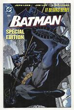 Batman #608 (2004 DC) VF/NM, Mattel toy premium reprint Variant, Jim Lee art