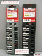 Craftsman 12 pc 3/8 Drive SAE MM Hex Bit Socket Set piece