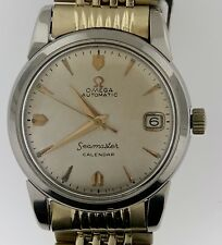 1956 Omega Sea master Automatic Calendar Watch~2849 SC~Rice Bracelet~cal 503~