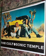 THE CULT Original SONIC TEMPLE Vintage  Poster
