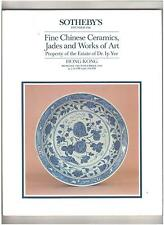 Sotheby's Catalog, Fine Chinese Ceramics, Estate of Dr. Ip Yee, Hong Kong, 1984