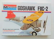 Vintage Monogram Goshawk FIIC-2 Model Aircraft Kit 1/72 Scale (Unopened)