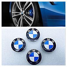 BMW² ALLOY WHEEL CENTRE CAPS 1 2 3 4 5 6 7 SERIES E90 F10 F20 F30 M3 M5 X5 68MM